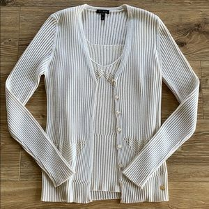 ✨ Escada Champagne Sweater Set ✨